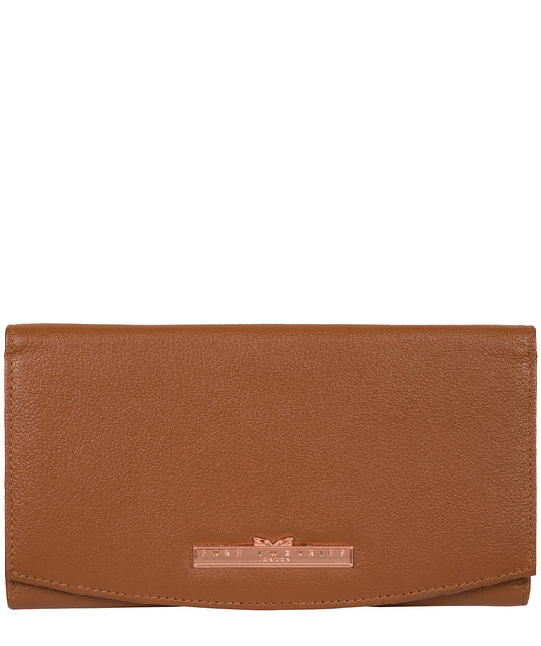 'Lark' Tan Leather Purse image 1