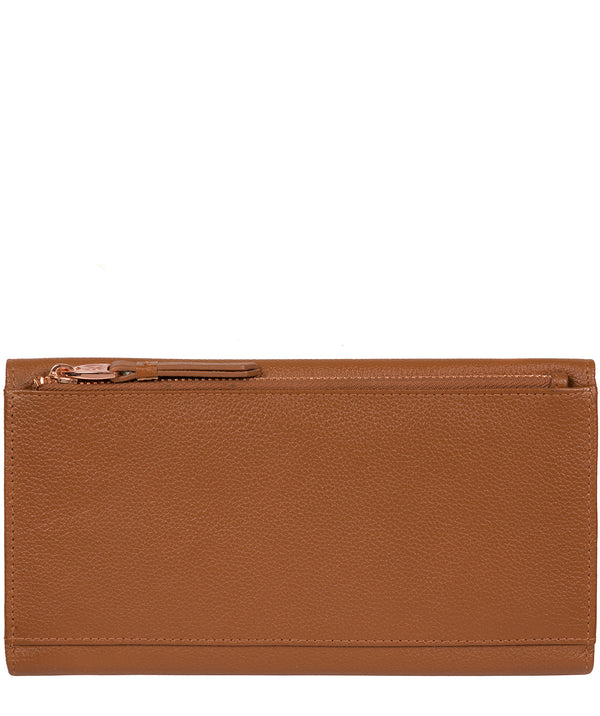 'Lark' Tan Leather Purse image 3