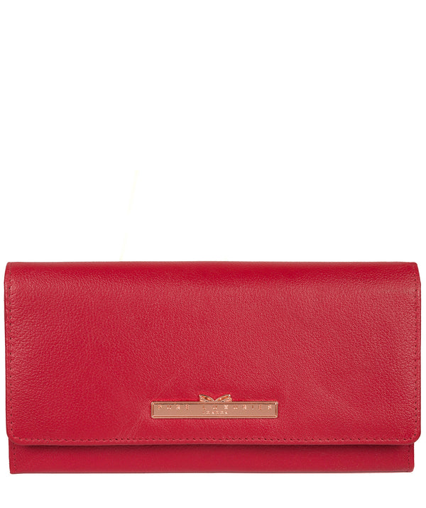 'Pipit' Barbados Cherry Leather Purse image 1