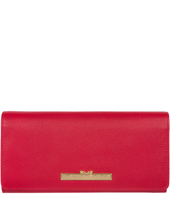 'Pipit' Barbados Cherry Leather Bi-Fold Purse image 1
