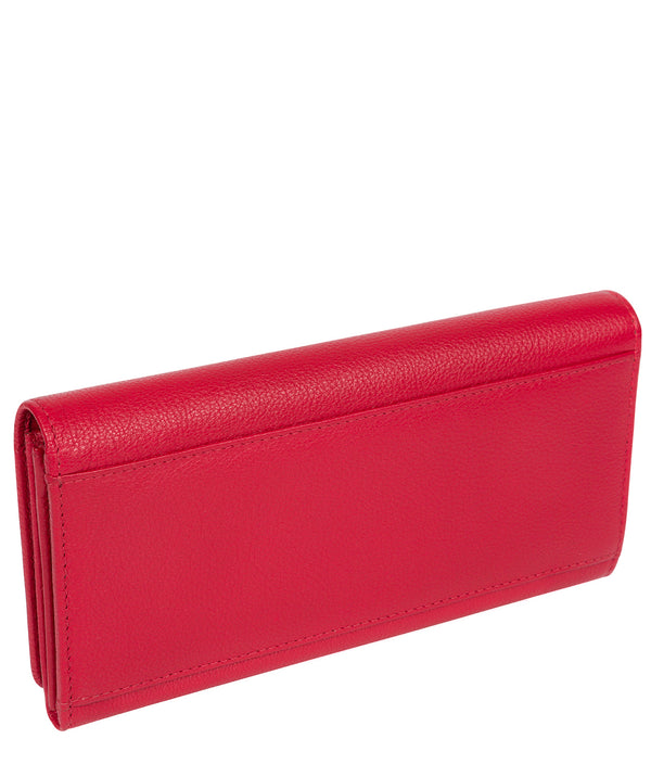'Pipit' Barbados Cherry Leather Bi-Fold Purse image 3