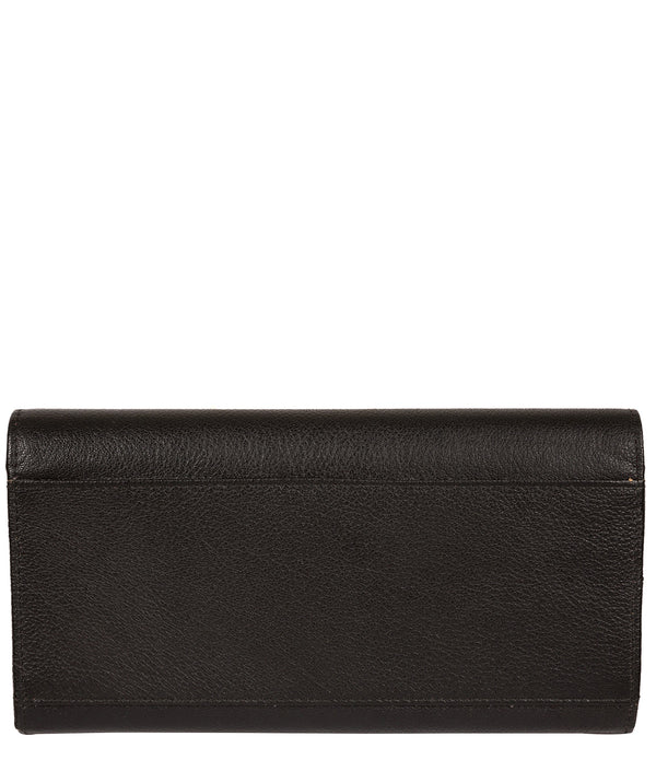 'Pipit' Black Leather Purse image 3