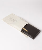 'Pipit' Black Leather Bi-Fold Purse image 5