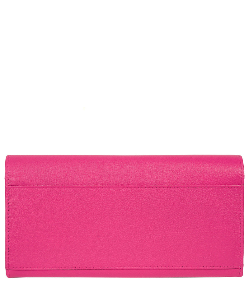 'Pipit' Fuchsia Leather Purse image 3