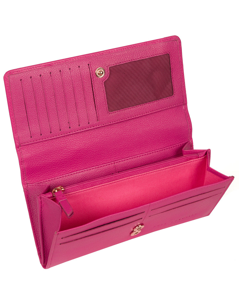 'Pipit' Fuchsia Leather Purse image 4