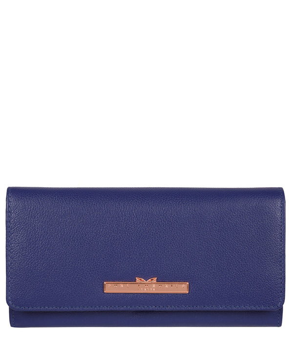 'Pipit' Navy Blue Leather Purse image 1