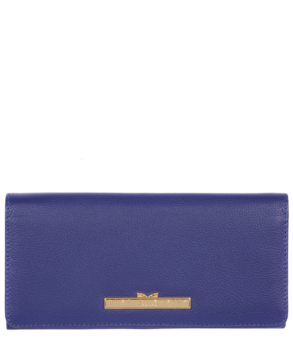 'Pipit' Navy Leather Bi-Fold Purse image 1
