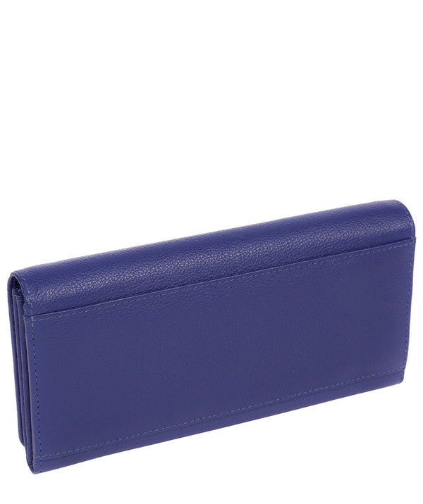'Pipit' Navy Leather Bi-Fold Purse image 3