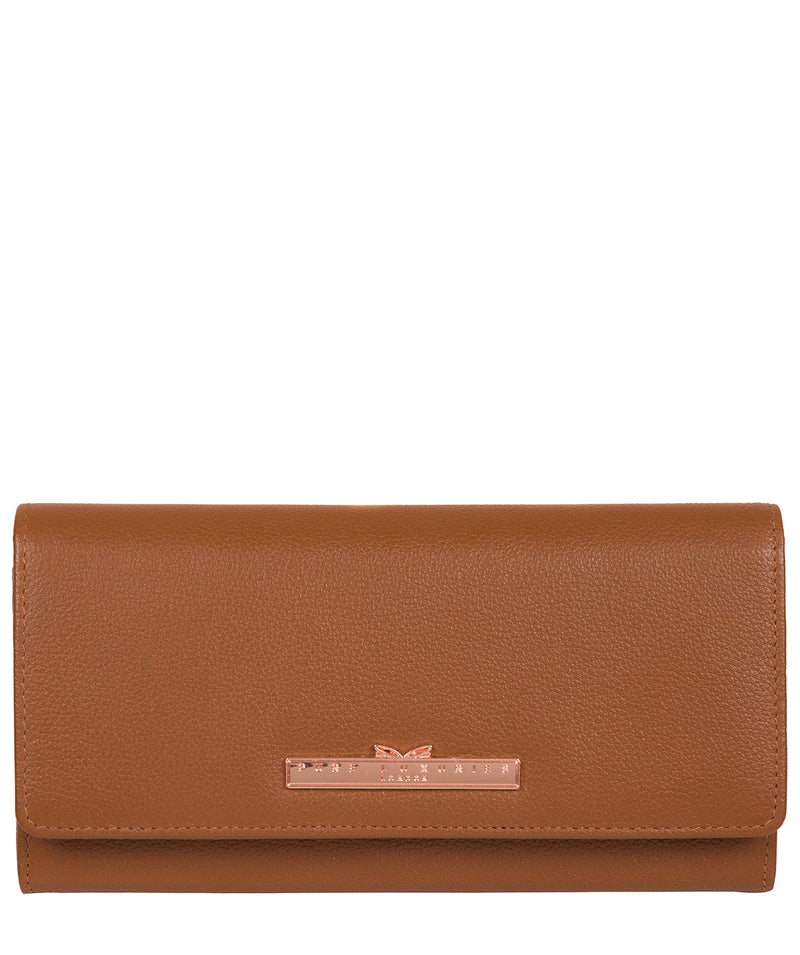 'Pipit' Tan Leather Purse image 1