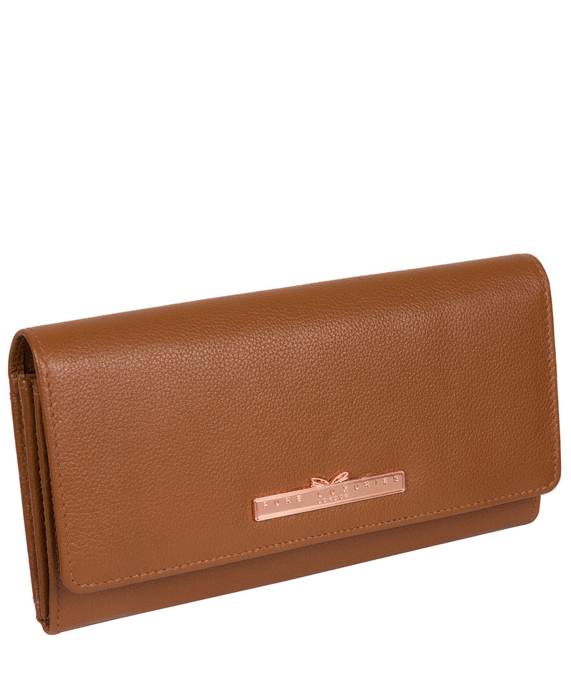 'Pipit' Tan Leather Purse image 5