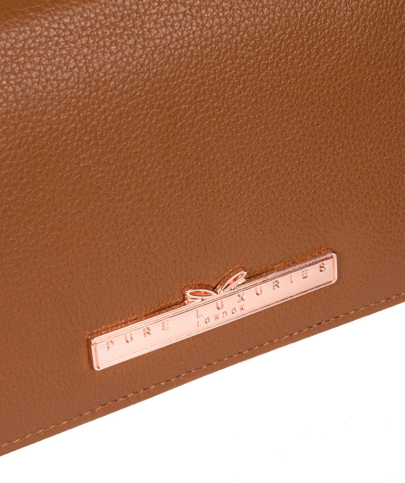 'Pipit' Tan Leather Purse image 7