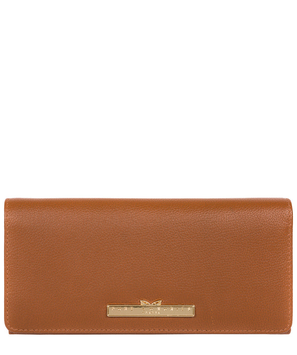 'Pipit' Tan Leather Bi-Fold Purse image 1