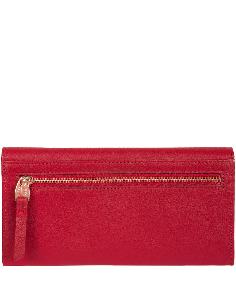 'Wren' Barbados Cherry Leather Purse image 3