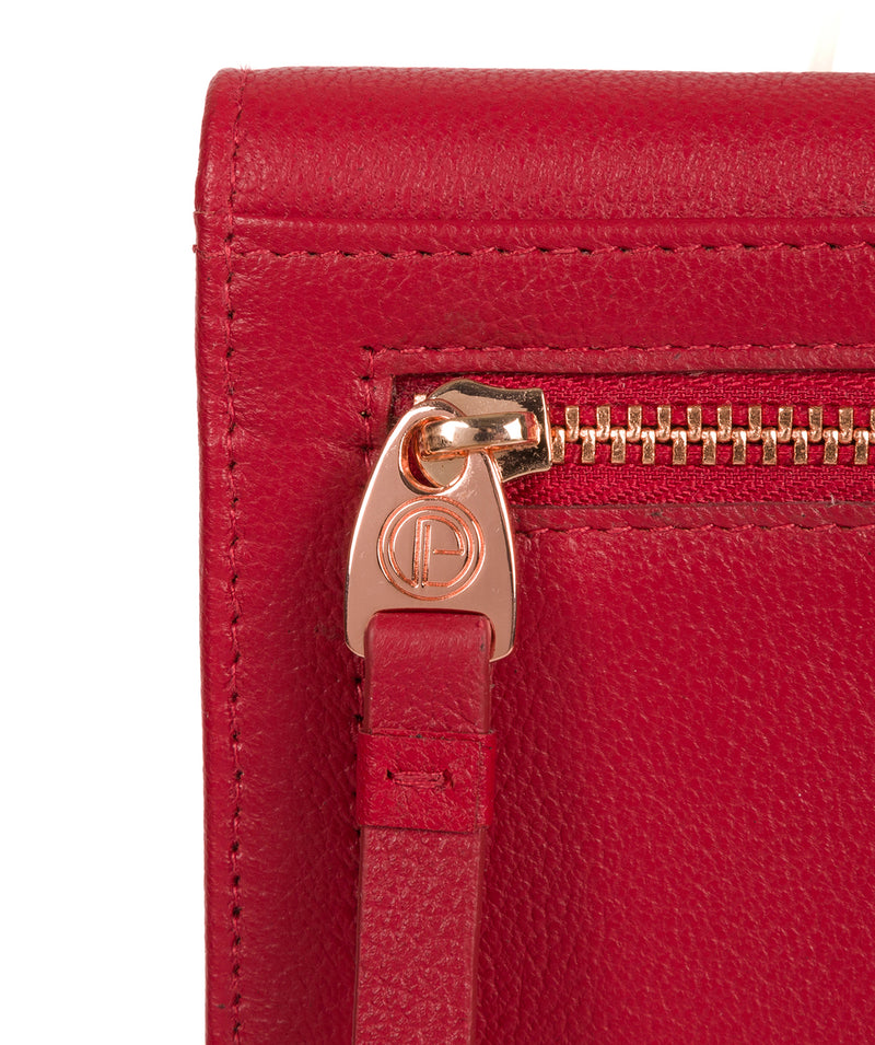 'Wren' Barbados Cherry Leather Purse image 6