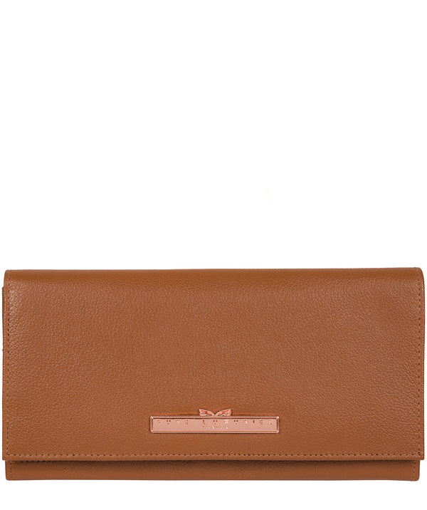'Wren' Tan Leather Purse image 1