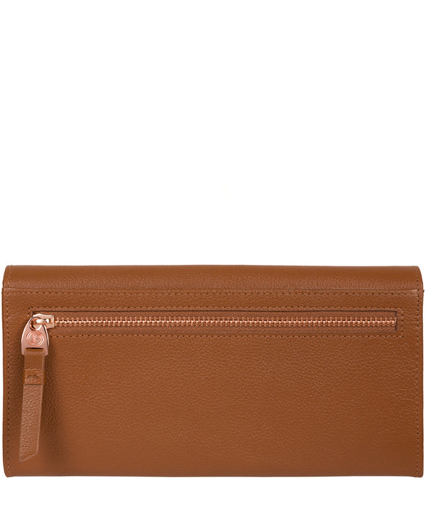'Wren' Tan Leather Purse image 3