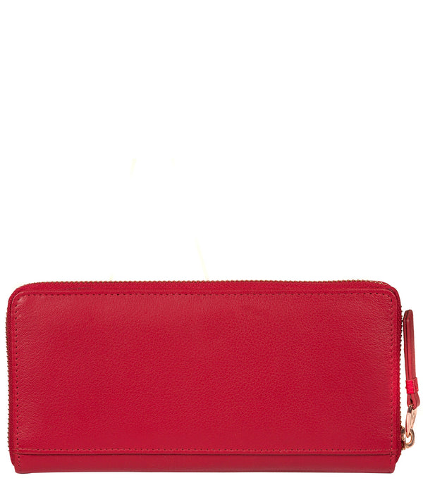 'Starling' Barbados Cherry Leather Purse image 3