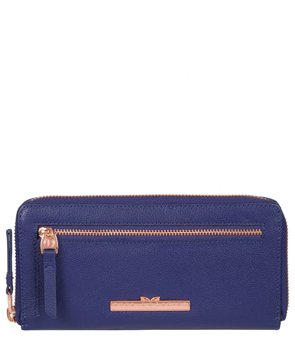 'Starling' Navy Blue Leather Purse image 1
