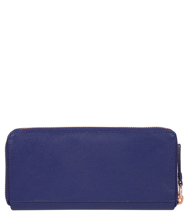 'Starling' Navy Blue Leather Purse image 3