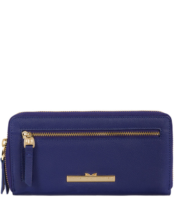 'Starling' Navy Leather Bi-Fold Purse image 1