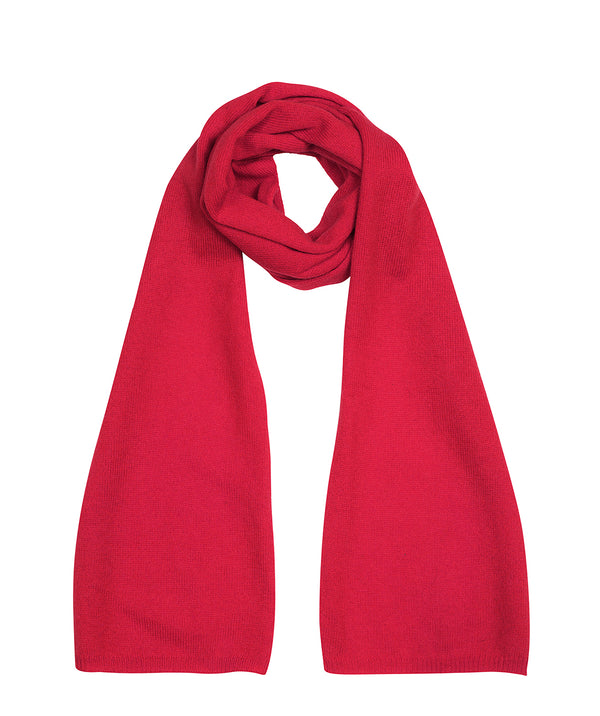 'Cambridge' Chilli Red 100% Cashmere Scarf
