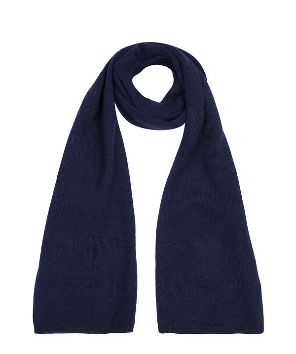 'Cambridge' Dark Navy 100% Cashmere Scarf
