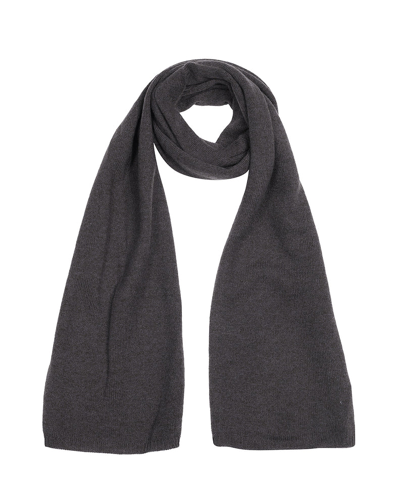 'Oxford' Slate Cashmere Scarf