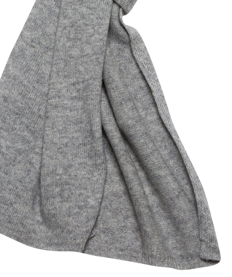 'Edinburgh' Grey Cashmere and Merino Wool Scarf