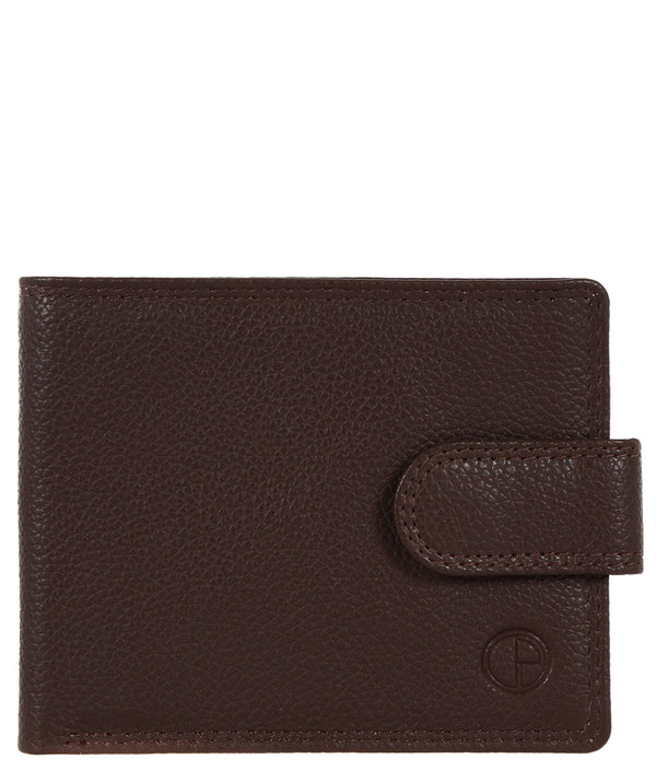 'Settle' Brown Natural Leather Wallet
