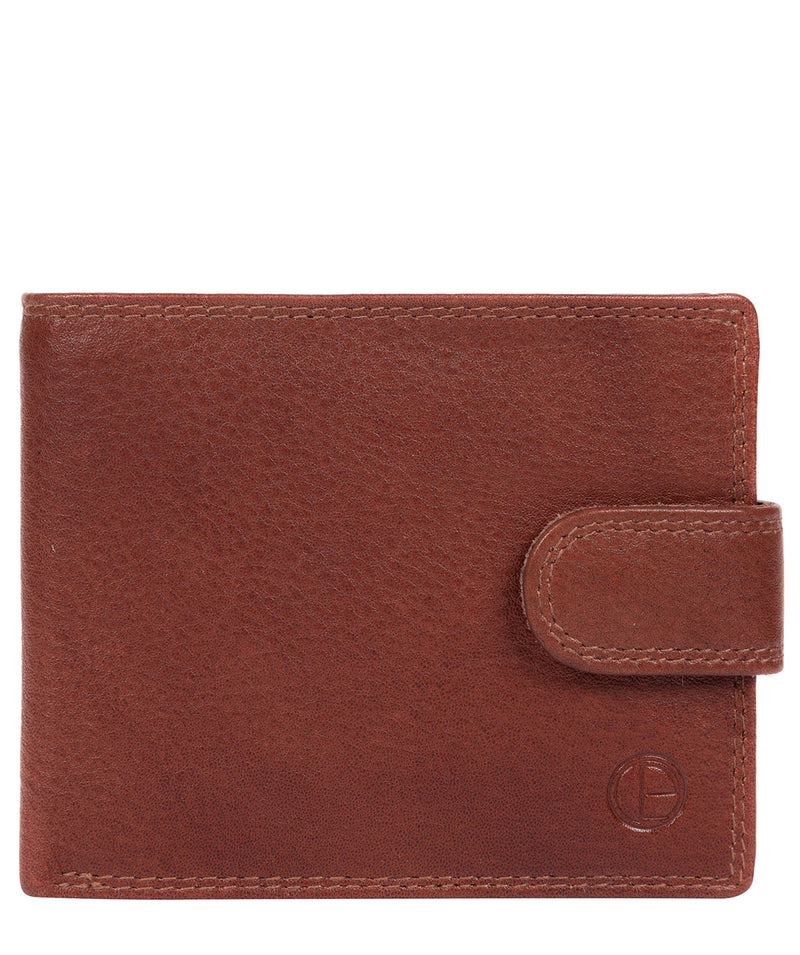 'Thorn' Dark Tan Leather Wallet image 1