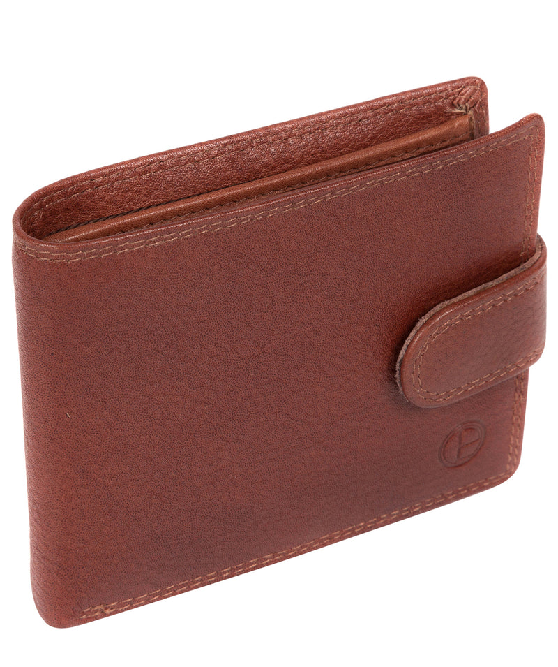 'Thorn' Dark Tan Leather Wallet image 3