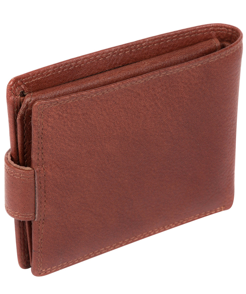 'Thorn' Dark Tan Leather Wallet image 4