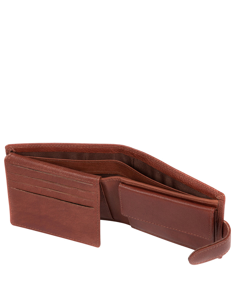 'Thorn' Dark Tan Leather Wallet image 5