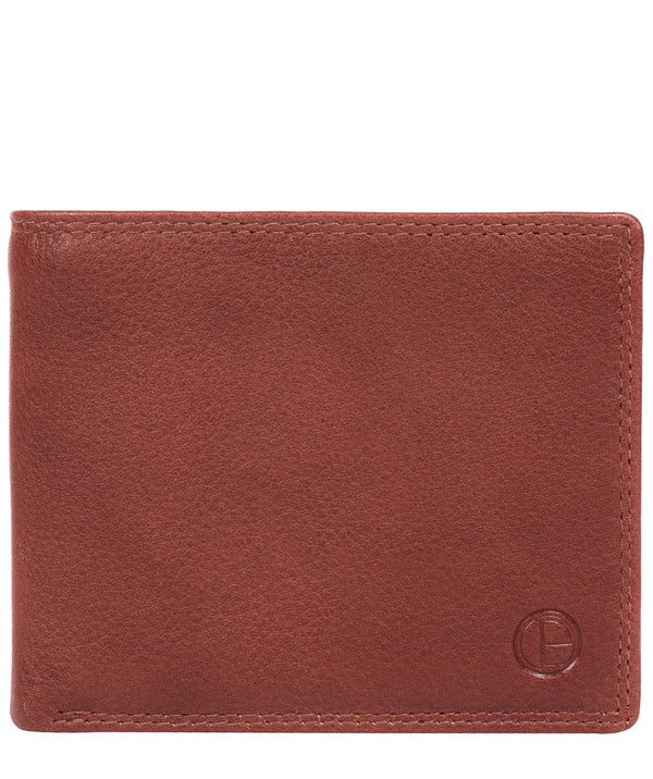 'Finn' Dark Tan Leather Wallet image 1