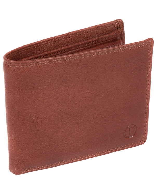 'Finn' Dark Tan Leather Wallet image 3