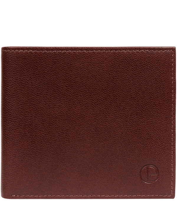 'Soloman' Brown Leather Bi-Fold Wallet image 1