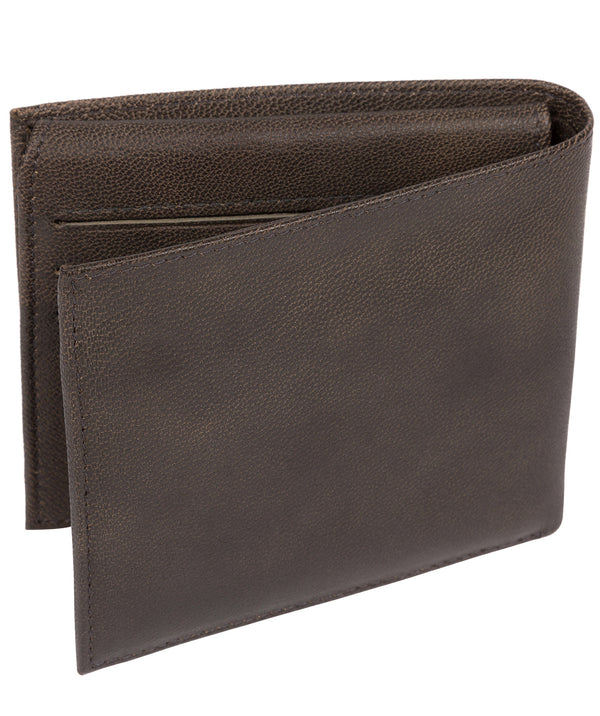'Reynold' Vintage Black Leather Wallet image 3