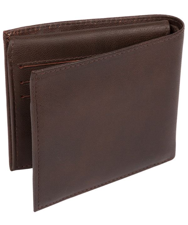 'Reynold' Vintage Brown Leather Wallet