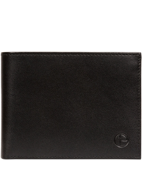 'Irving' Black Leather Wallet image 1