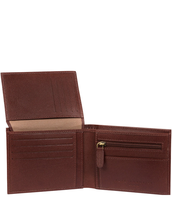 'Irving' Brown Leather Wallet image 3
