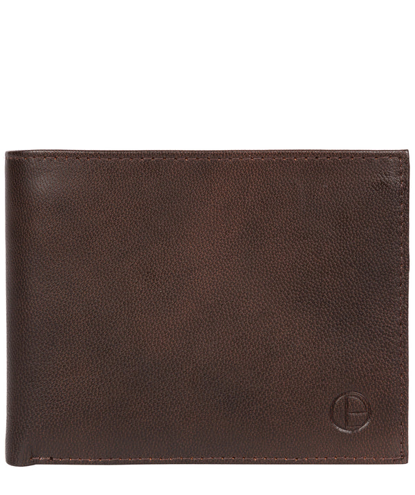 'Irving' Vintage Brown Leather Wallet image 1