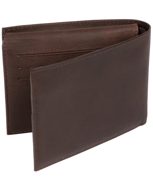 'Irving' Vintage Brown Leather Wallet image 3