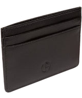 'Elden' Black Leather Card Holder image 3