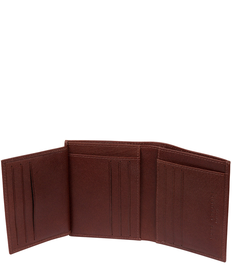 'Airton' Brown Leather Credit Card Wallet image 4