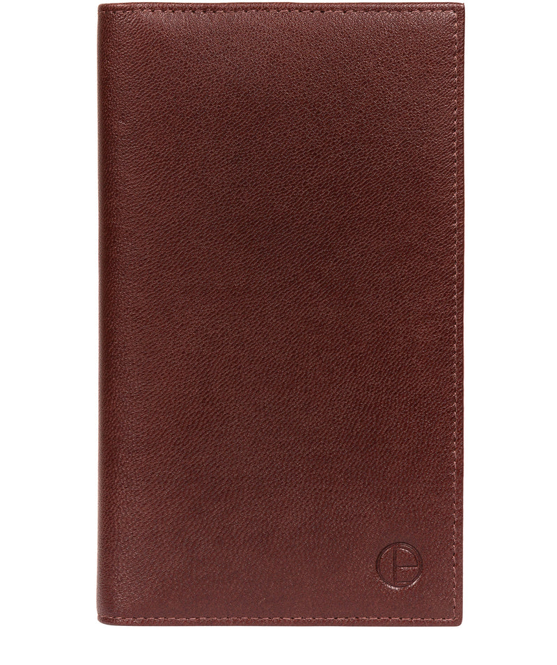 'Addison' Brown Leather Breast Pocket Wallet image 1