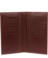 'Addison' Brown Leather Breast Pocket Wallet image 3