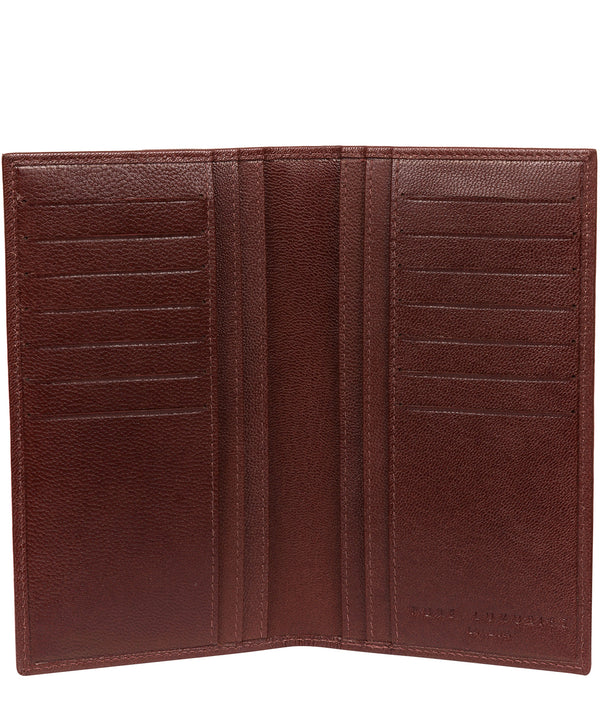 'Addison' Brown Leather Breast Pocket Wallet