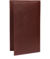 'Addison' Brown Leather Breast Pocket Wallet image 4