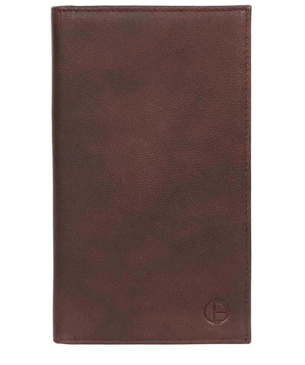 'Addison' Vintage Brown Leather Breast Pocket Wallet image 1