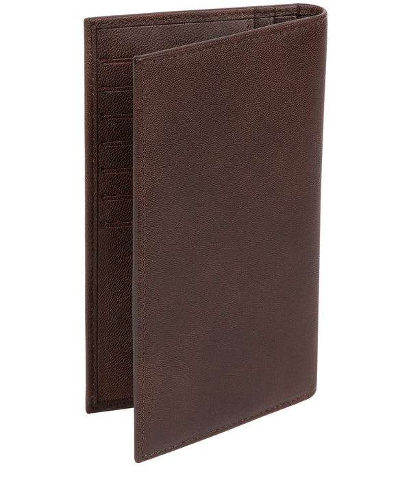 'Addison' Vintage Brown Leather Breast Pocket Wallet image 3